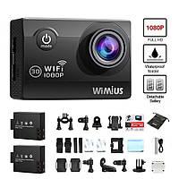WIMIUS Экшн камера Wifi HD 1080P