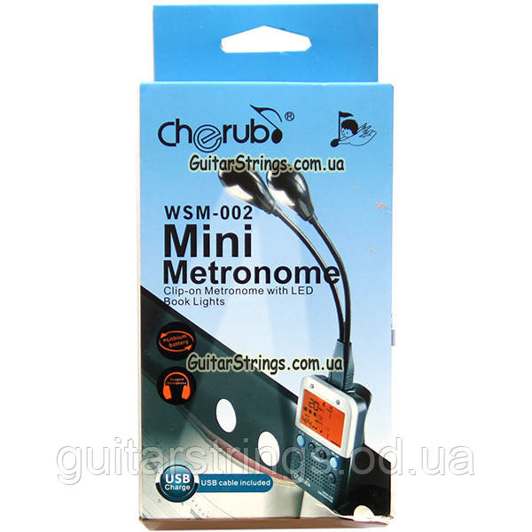 Guitar Metronome Cherub WSM-002 метроном/тон генератор