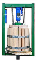 Гидравлический пресс для сока 25 л с домкратом, давление 5 тонн