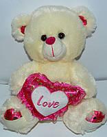 Мягкая игрушка медведь с сердцем Love SP51503
