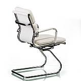 Кресло Solano 3 office artleather white, фото 4