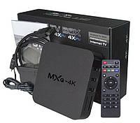 Приставка для телевизора Android Smart TV Box MXQ 4K