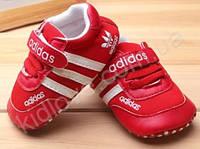 Красные кроссовки для малышей ADIDAS