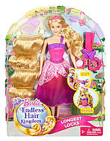 Barbie Endless Hair Kingdom Princess Pink