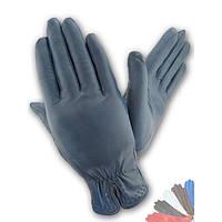 Женские перчатки из натуральной кожи на шерстяной подкладке модель 175.