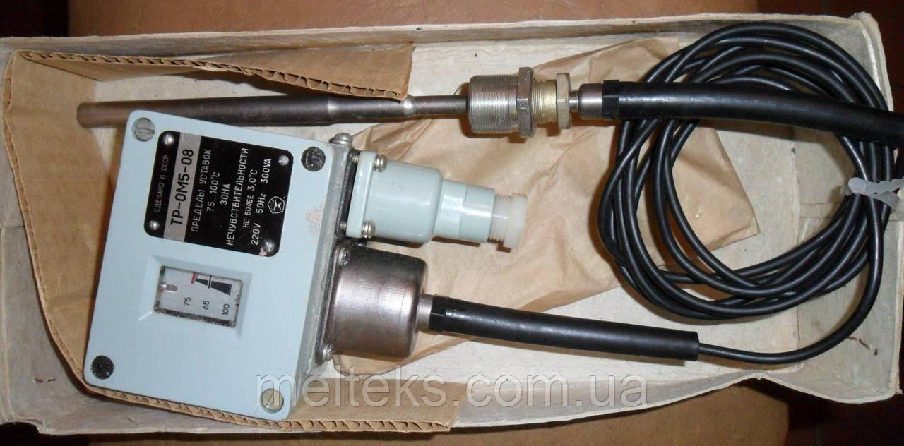 Реле температуры ТР-0М5 для дизелей, компрессоров