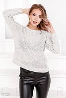 Мягкий вязаный свитер Gepur 17725