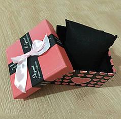 Коробочка подарочная для часов с подушечкой