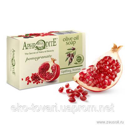 Оливкове мило з екстрактом граната Aphrodite®, натуральне 100 г