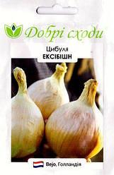 Семена лука Эксибишн 100шт ТМ ДОБРІ СХОДИ