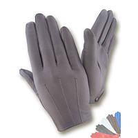 Женские перчатки из натуральной кожи без подкладки модель 394.