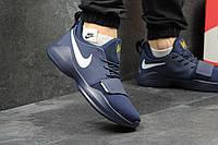 Кроссовки  Nike Zoom мужские (синие с белым), ТОП-реплика, фото 1