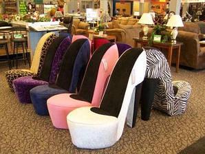 Кресла-туфельки