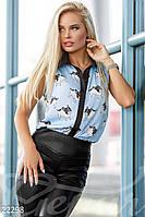 Забавная летняя рубашка Gepur 22298