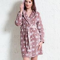 Махровые и велюровые халаты