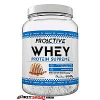 Протеин Whey Protein Supreme ProActive Молочная карамель, 500g
