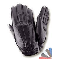 Мужские перчатки из натуральной кожи на шерстяной подкладке модель 429.