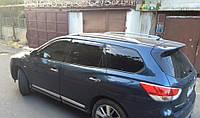 Ветровики Nissan Pathfinder IV 2014