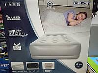 Надувная односпальная кровать BestWay 67455 (97х191х38 см.)Доставка по Украине!