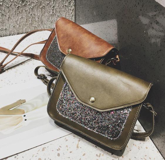 0bd6020fb96e Женская сумка почтальон с блестками - ИМ Ирина- магазин женской и мужской  одежды,обуви