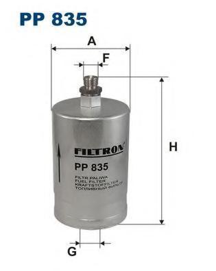 FUMOD FG85 Фильтр топливный MERCEDES W201/W124