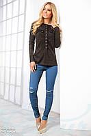 Эластичные брюки скинни Gepur 21936