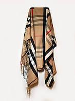 Женский шарф, палантин, шерстяной, зимний Burberry