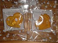 Леденцы с ПРЕДСКАЗАНИЕМ, в форме сердечка без палочки в праздничной упаковке.