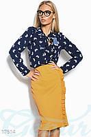 Облегающая батальная юбка-карандаш Gepur 17614