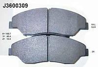 PSP D0774 Колодки гальмівні передні KIA SPORTAGE/RETONA