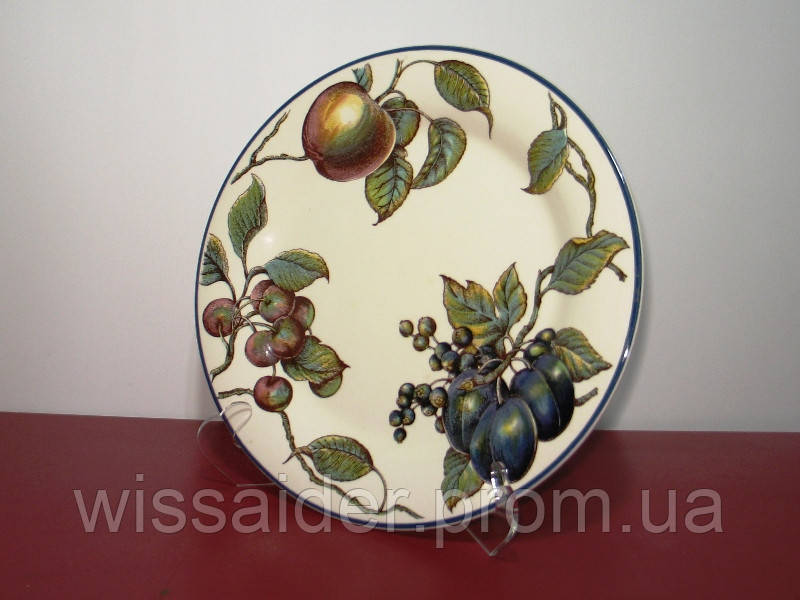 Подставка для 1-й тарелки, блюда большая (105х195мм., акрил 3мм.)