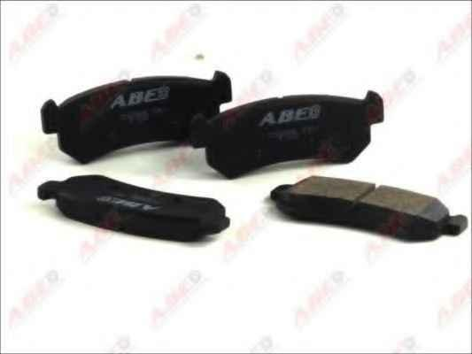 PSP D1036 Колодки гальмівні задні CHEVROLET/DAEWOO LACETTI/AVEO