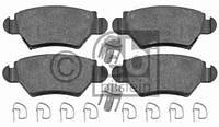 PSP L0171 Колодки гальмівні задні OPEL ASTRA C