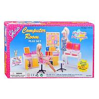 """Мебель """"Компьюторный класс"""" - Gloria для кукол типа Барби"""