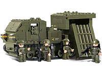 Конструктор SLUBAN M38-B0303 АРМИЯ - Военная машина (314 дет.)