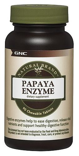 GNC Papaya Enzyme 90 chewable tabs