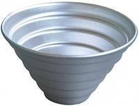 """Форма для выпечки кекс алюминий """"Конус"""" 7.5*5см"""