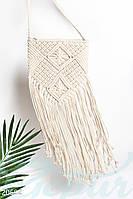 Плетеная сумка бахрома Gepur