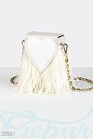 Вместительная вечерняя сумочка Gepur 20651