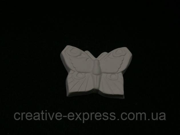 Барельеф Бабочка№1(маленькая) b07001, фото 2