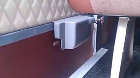 Электрический механизм открывания дверей в микроавтобусе (электро дверь)