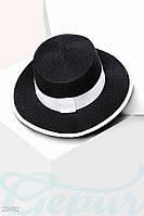 Классическая соломенная шляпа Gepur 20492