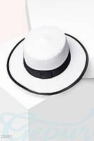 Классическая соломенная шляпа Gepur 20491