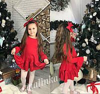 Детское платье с повязкой