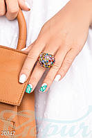 Цветное женское кольцо Gepur 20747