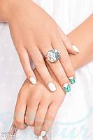 Красивое объемное кольцо Gepur 20759