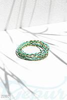 Многослойный рельефный браслет Gepur 20801