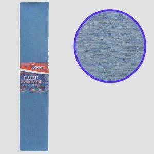 """Бумага гофрированная серо-голубой 55% 20г\м2 50см*2м KR55-8033 """"JO"""""""