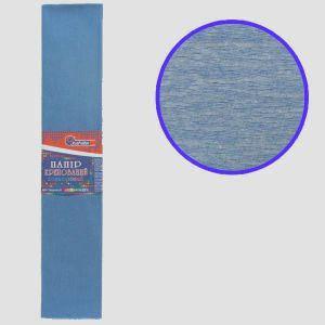 """Бумага гофрированная серо-голубой 55% 20г\м2 50см*2м KR55-8033 """"JO"""", фото 2"""
