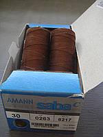 Нитки Amann Saba  С №30 ( Германия). 300м цвет 0263